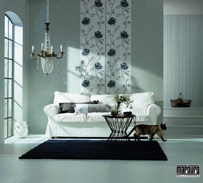 tapeten und farben tawico heimdekor. Black Bedroom Furniture Sets. Home Design Ideas