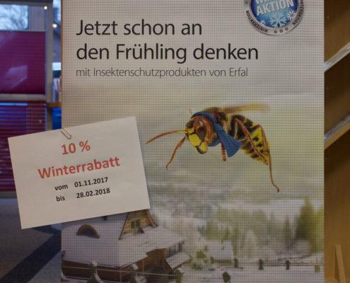Insektenschutz - Winterrabattaktion auf Insektenschutz bei Ihrem Raumausstatter in Coesfeld