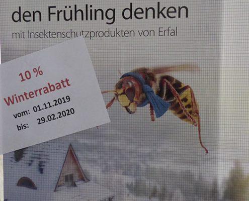 Insektenschutz vom Fachbetrieb