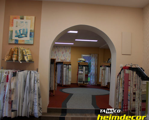 Tawico Heimdecor: Stores, Vorhänge, Kissen und Bilder