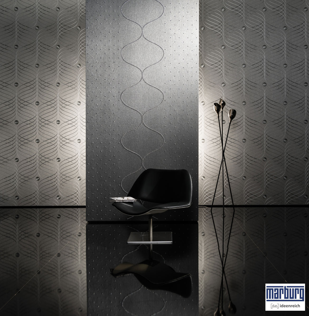 Colani Design Tapeten Fur Moderne Raumgestaltung Tawico Heimdekor