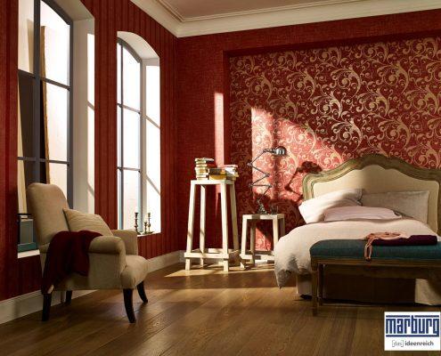 Barockdesign mit modernen Tapeten