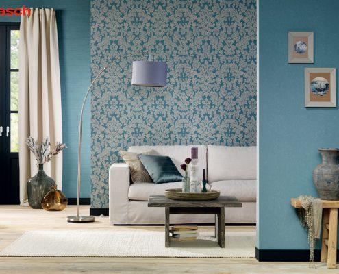 Gestaltung mit Farben und Tapeten für ein besseres Raumgefühl